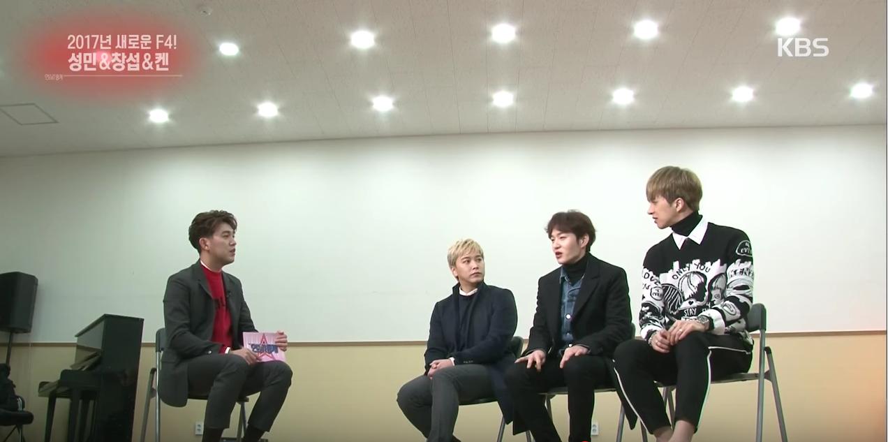 """Ken de VIXX y Changsub de BTOB hablan de tomar el papel de Tsukasa (Goo Jun Pyo) en el musical de """"Boys Over Flowers"""""""