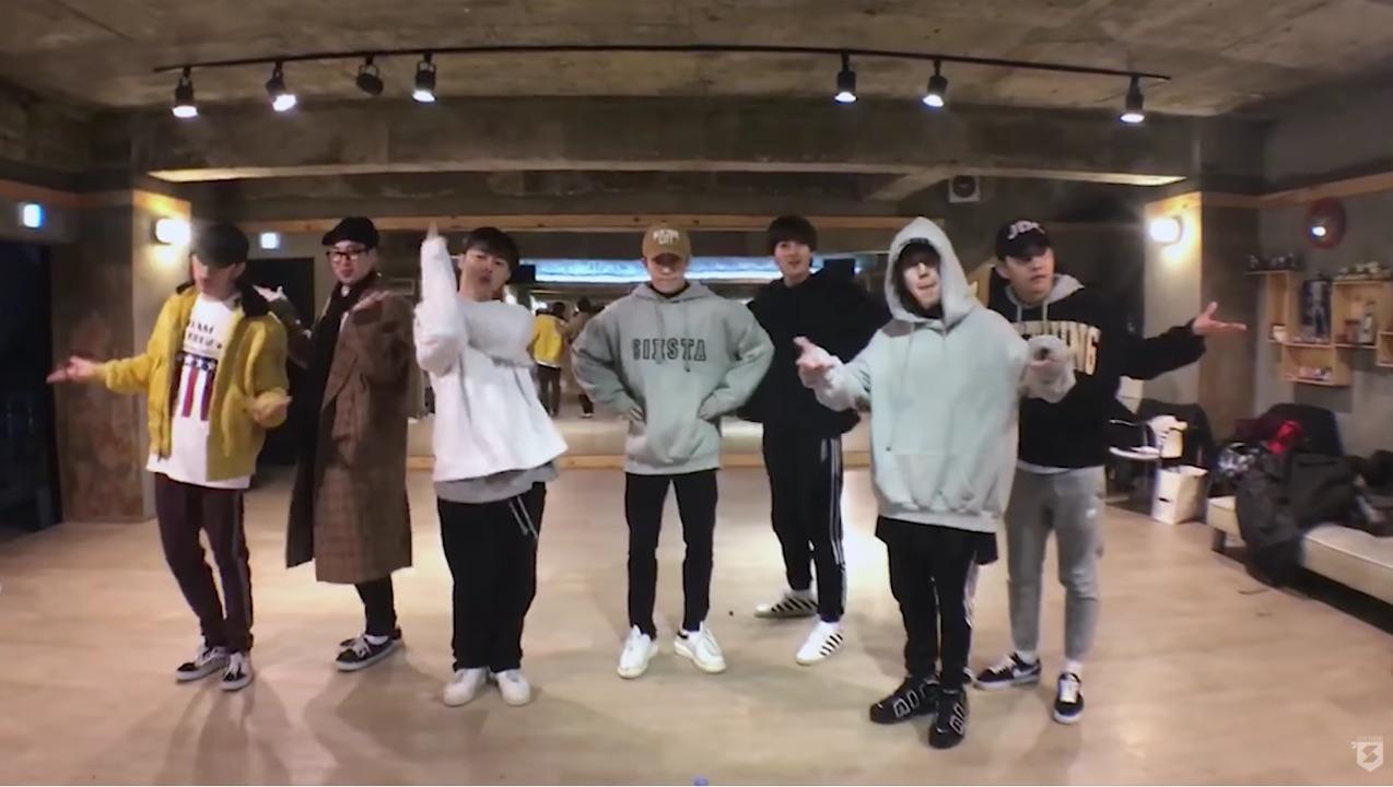 """Block B publica enérgica y divertida práctica de baile para """"Yesterday"""""""