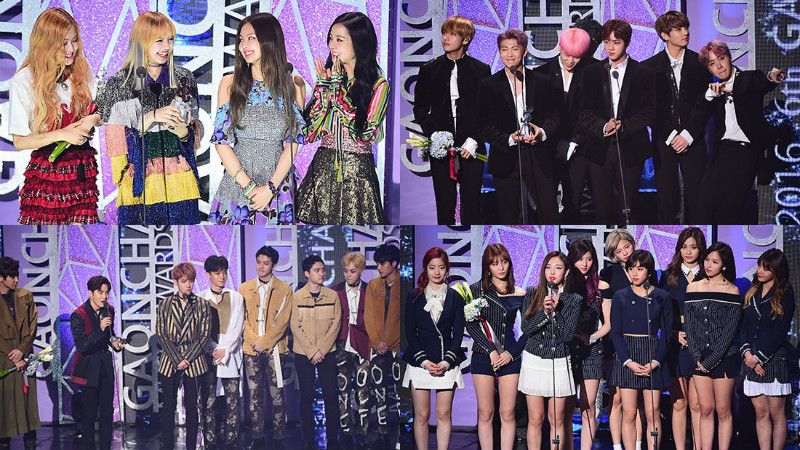 Ganadores de los 6° Gaon Chart Music Awards