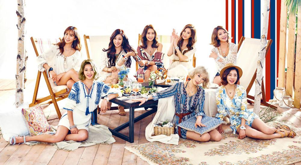 Girls' Generation prepara su regreso para Julio