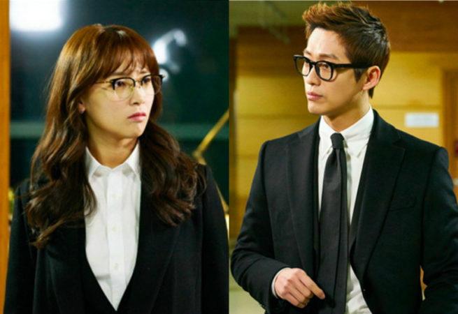 """Namgoong Min y Nam Sang Mi lucen como unos adorables gemelos en traje en """"Chief Kim"""""""