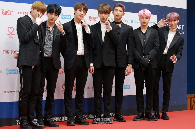 Gaon pide disculpas por la controversia de plagio de BTS en los 6º Gaon Chart Music Awards