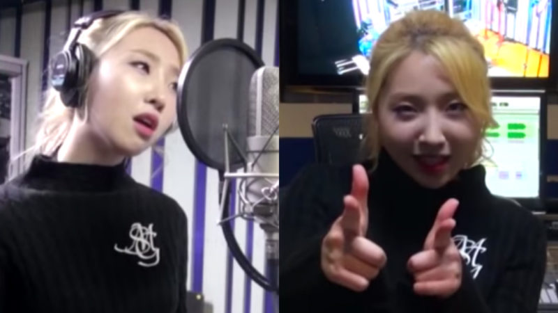 """Minzy deja escuchar un pequeño previo de su balada para el OST de """"Rebel: Thief Who Stole The People"""""""