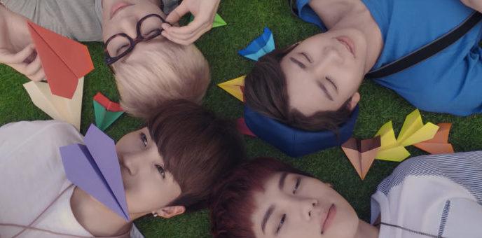 """HIGH4 publica un lindo y animado MV para """"Love Line"""""""
