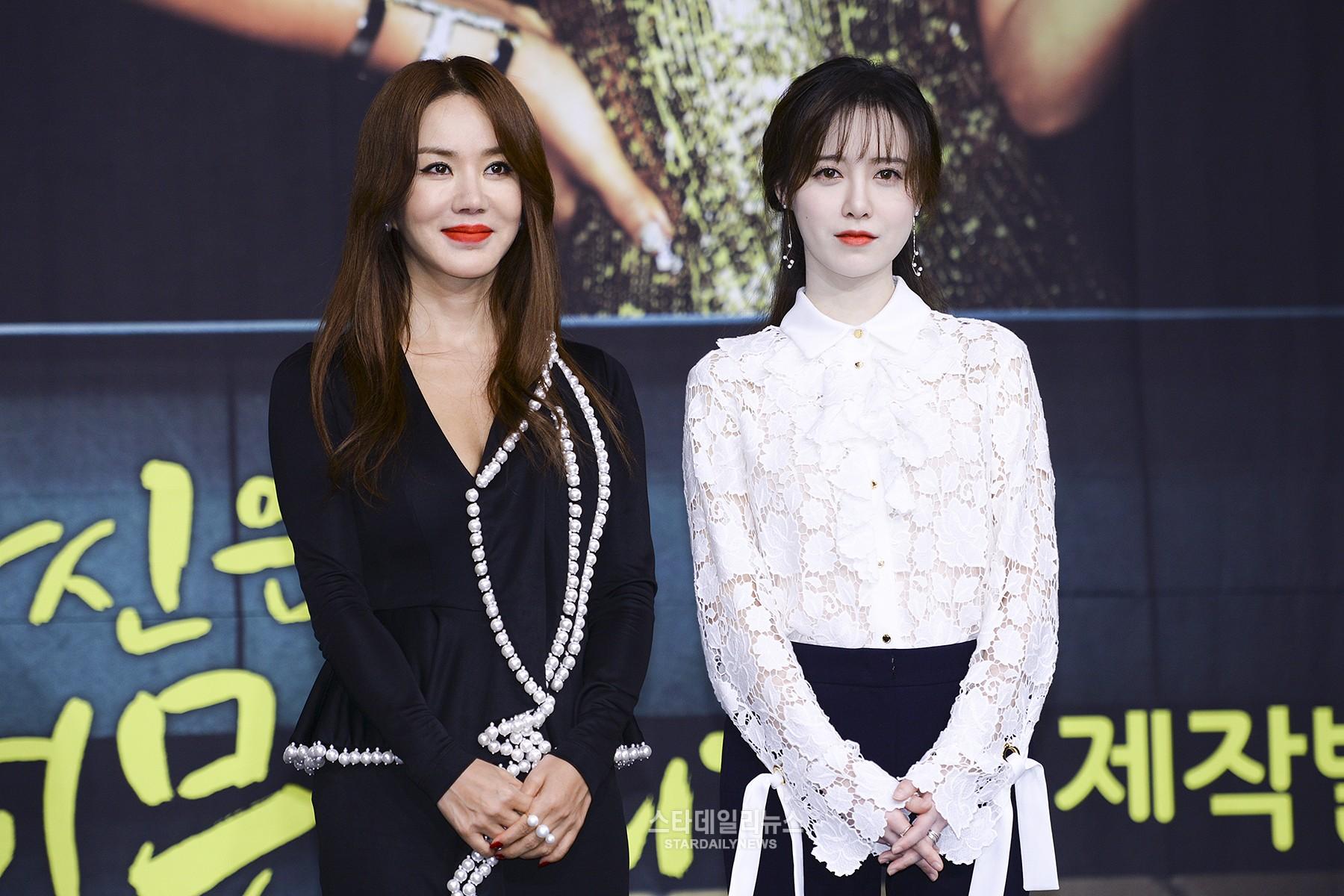 Ku Hye Sun y Uhm Jung Hwa hablan sobre la competición entre actrices en su próximo drama