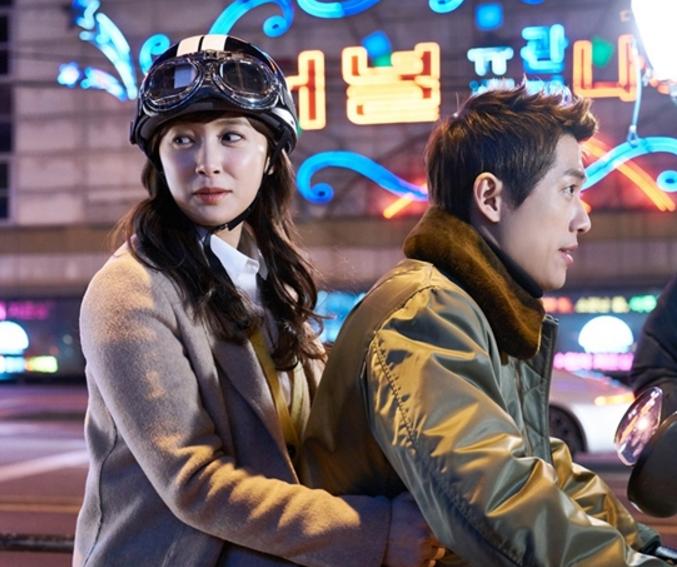 """Namgoong Min y Nam Sang Mi disfrutan de una romántica cita en scooter en """"Chief Kim"""""""