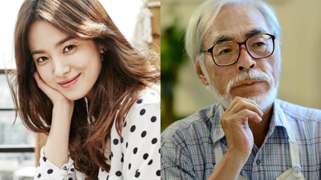 Song Hye Kyo y Hayao Miyazaki honran el día del Movimiento de Independencia de Corea