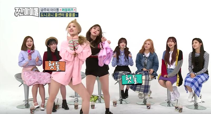 Mijoo y Jisoo roban la atención de todos cuando Lovelyz tuvo que bailar temas de TWICE, iKON, Red Velvet y otros más