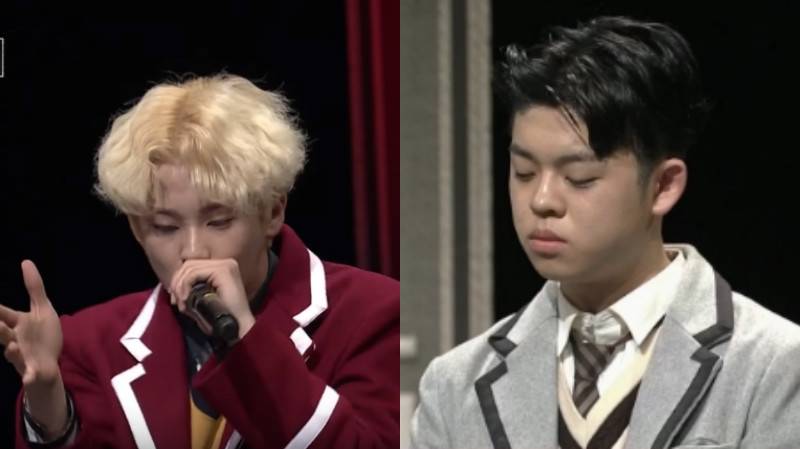 "Mark de NCT, MC Gree y más combaten en ""High School Rapper"""