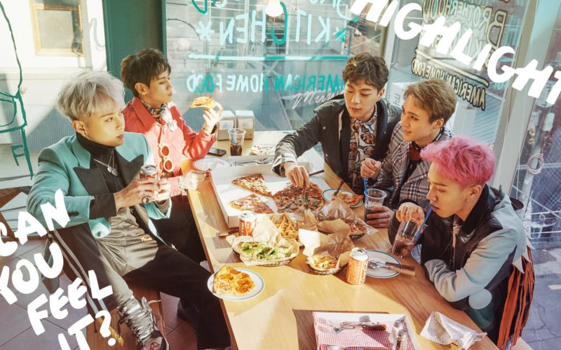 """Highlight (antes BEAST) comparte hermosas imágenes teaser para """"Can You Feel It?"""""""