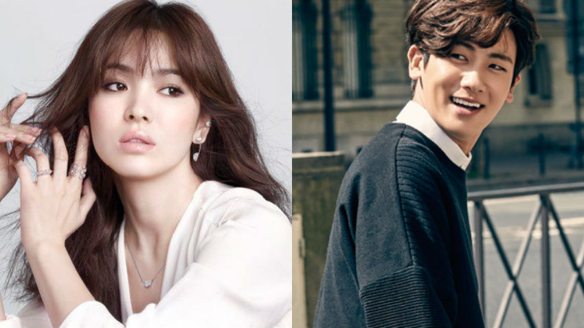 La agencia de Song Hye Kyo, UAA, expresa interés en Park Hyung Sik