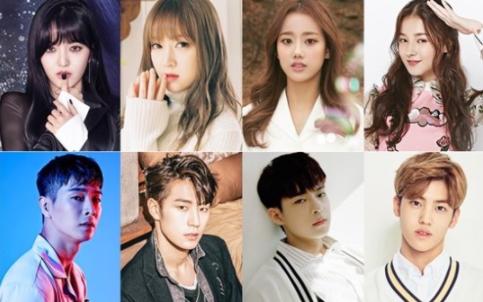 8 ídolos K-Pop competirán en nuevo programa de variedades por la oportunidad de protagonizar un drama