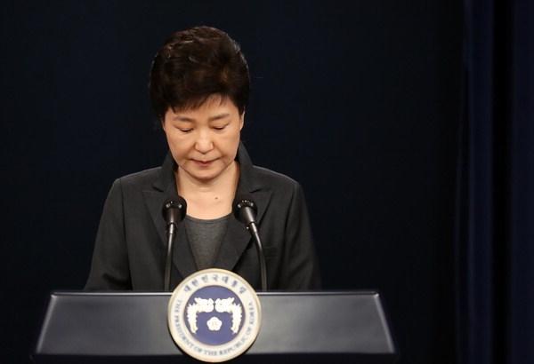 [Último minuto] La presidenta Park Geun Hye es oficialmente destituida de su cargo