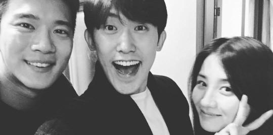 """Park Ha Sun, Ha Seok Jin y Min Jin Woong, tienen una reunión """"Drinking Solo"""""""