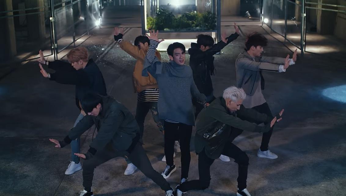 "GOT7 libera video musical para ""Never Ever"""