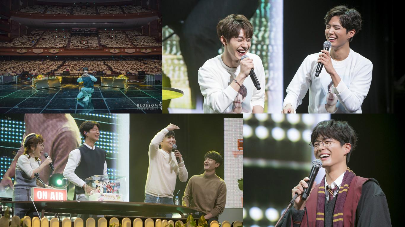 Park Bo Gum comparte noche mágica con invitados famosos en reciente reunión de fans en Seúl