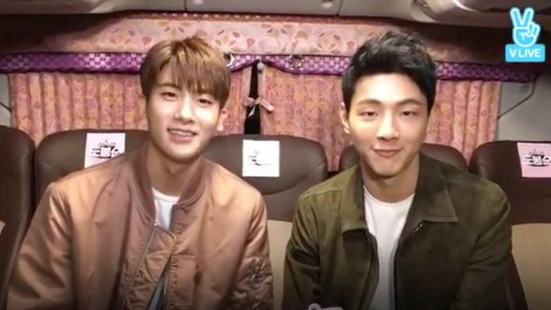 """Park Hyung Sik y Ji Soo """"protegen"""" a tres afortunadas estudiantes en su camino a casa"""