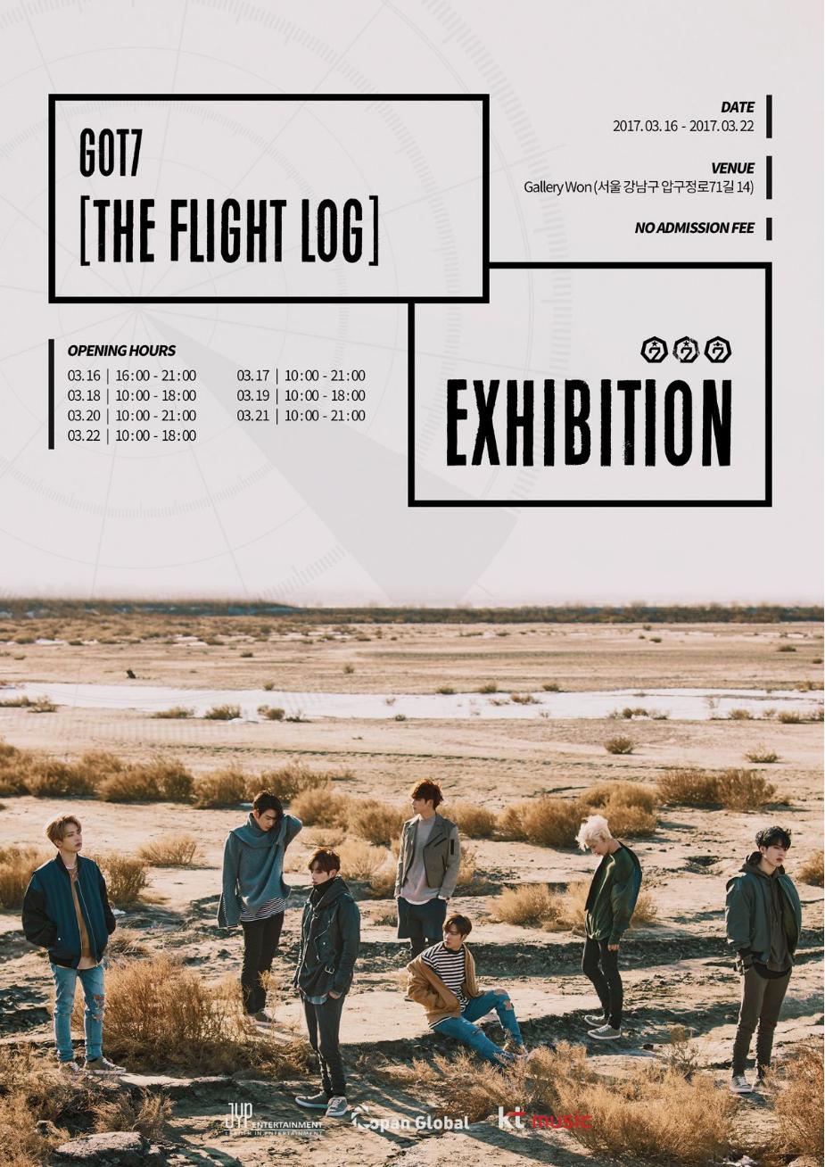 """GOT7 celebra la exhibición especial """"Flight Log"""" para sus fans con entrada gratuita"""