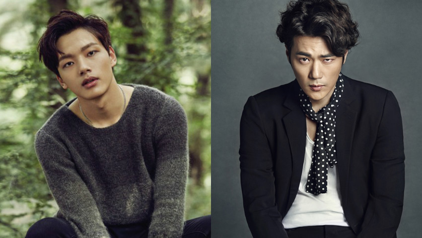 Kim Kang Woo y Yeo Jin Goo asisten a la primera lectura del próximo drama de ciencia ficción de tvN