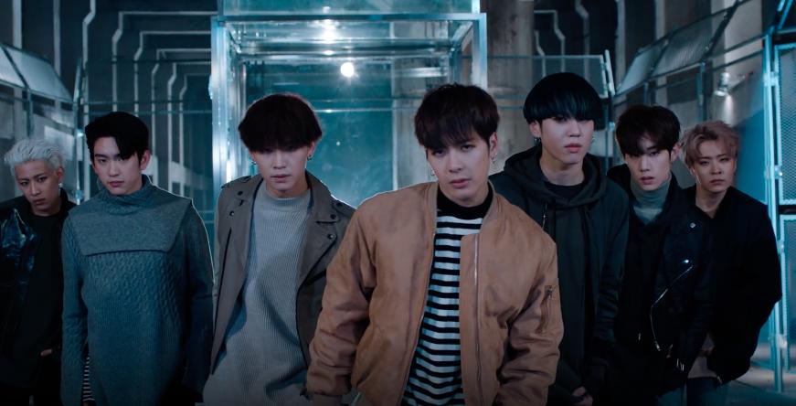 """GOT7 publica el MV de la brillante coreografía de """"Never Ever"""""""