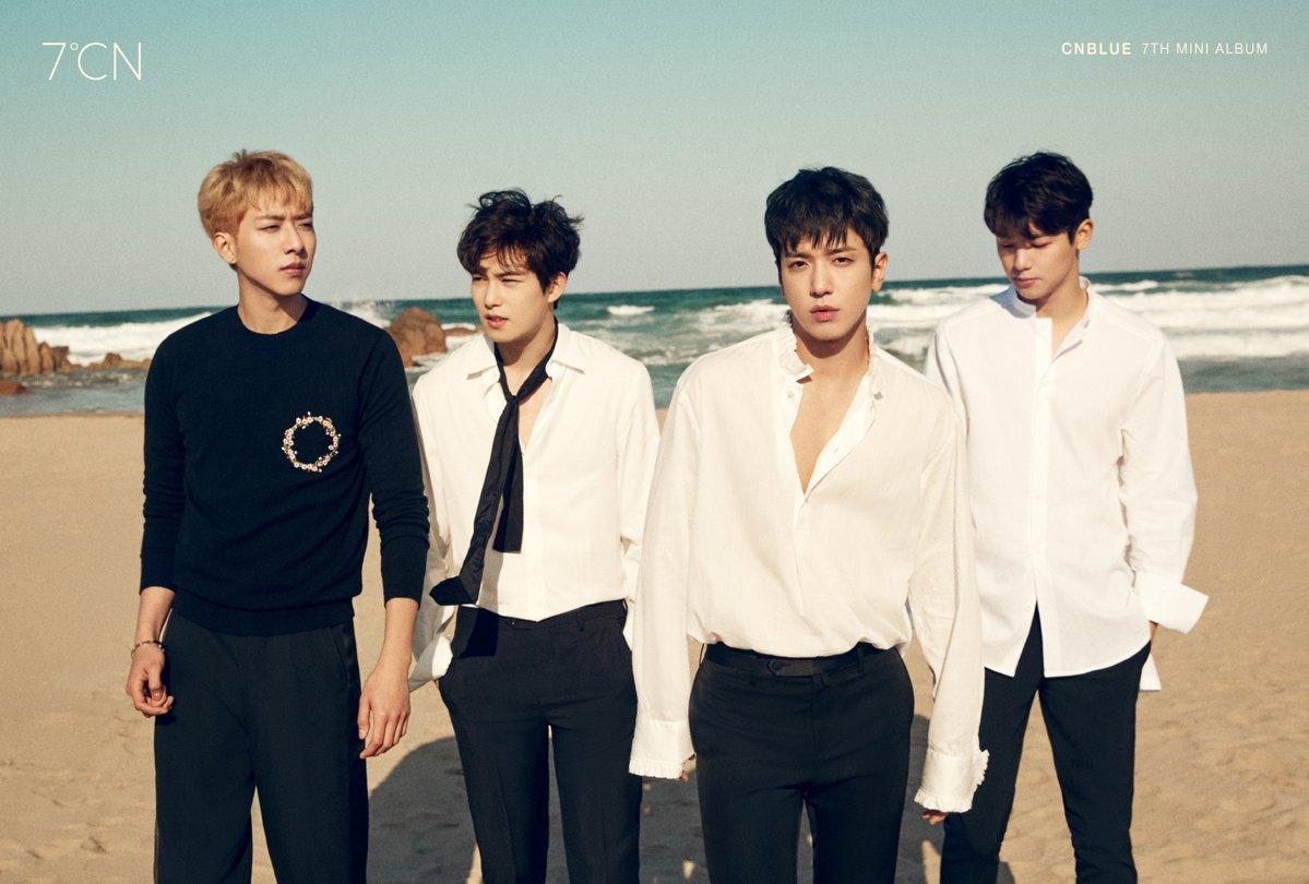 """CNBLUE llega a lo más alto de 9 listas musicales de iTunes de todo el mundo con """"7℃N"""""""