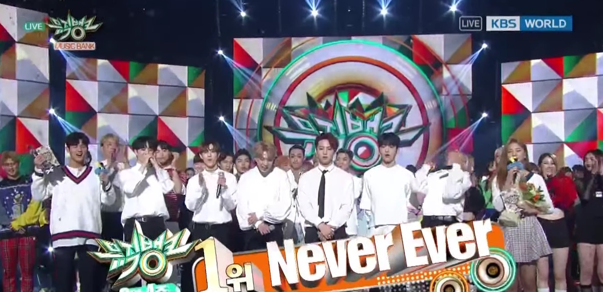 "GOT7 consigue su cuarta victoria para ""Never Ever"" en ""Music Bank"""