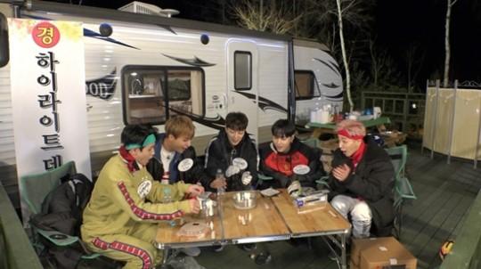Highlight se va a acampar para hacer su primera aparición como grupo en un programa de variedades