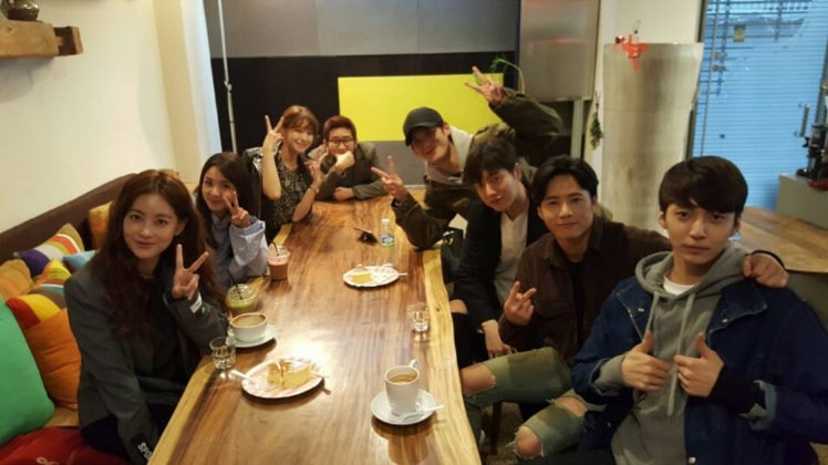 "El elenco de la película ""Cheese In The Trap"" se reúne por primera vez"