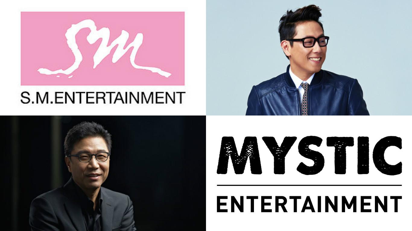 SM Entertainment se convierte en el mayor accionista de Mystic Entertainment de Yoon Jong Shin