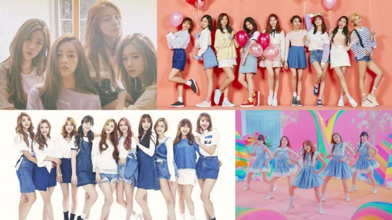 Se revela el ranking de reputación de marca de grupos femeninos de abril