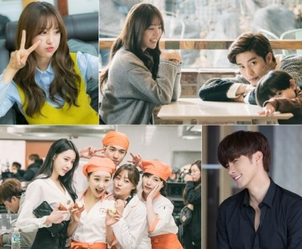 """Song Ji Eun y Sung Hoon son puras sonrisas en las fotos del detrás de cámaras de """"My Secret Romance"""""""