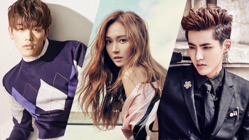"""Eric Nam, Jessica Jung, Kris Wu y otros más aparecen en la lista """"30 Under 30 Asia: Celebrities"""" de Forbes"""