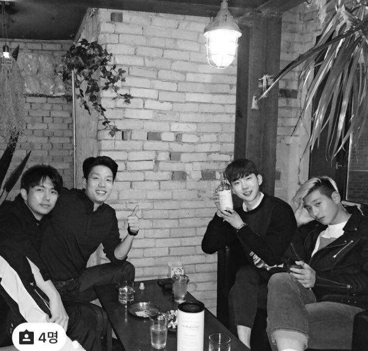 Los miembros de 2AM se juntan para una mini reunión