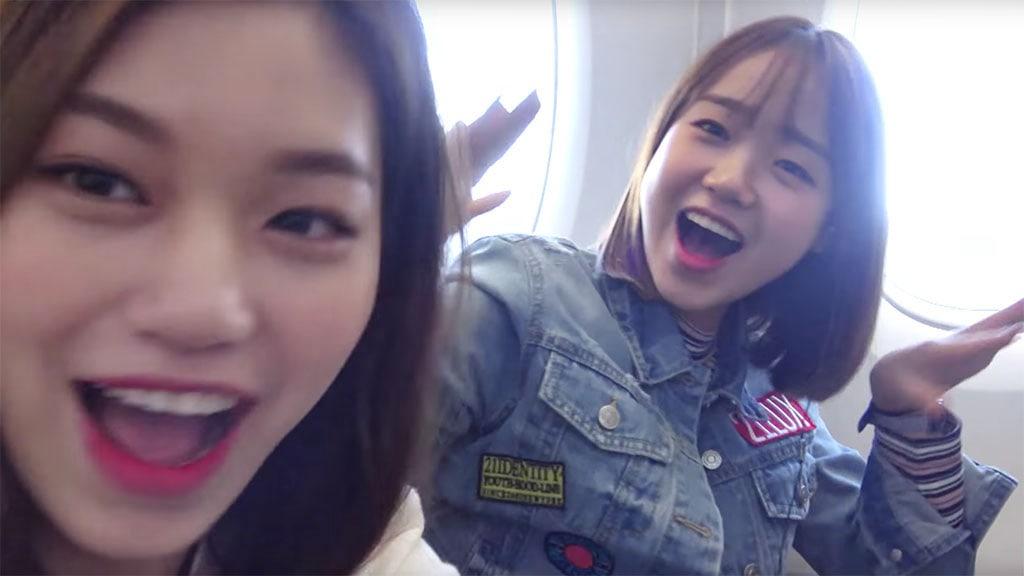 Yoojung y Doyeon muestran su gran amistad y se divierten en Los Ángeles