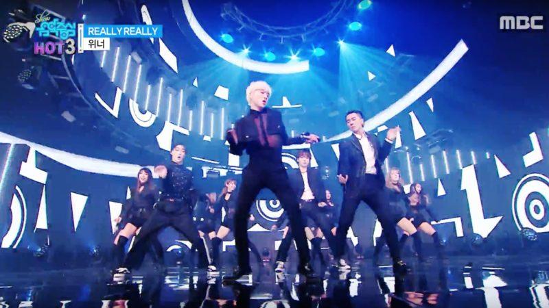 """WINNER, EXID y Jung Eunji de Apink entre otros actúan en """"Music Core"""""""