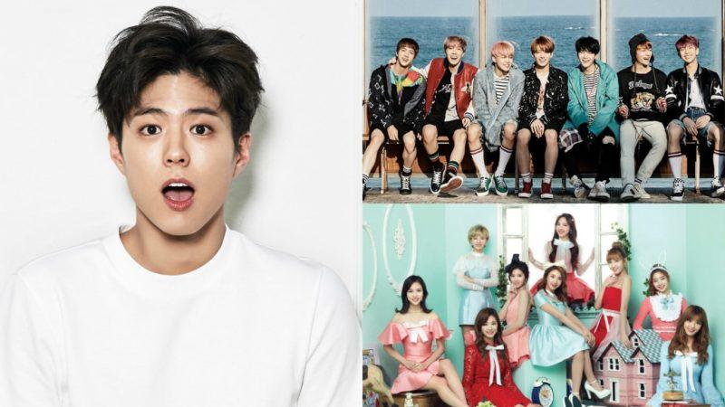 """Park Bo Gum baila canciones de TWICE y BTS + Se mantiene calmado mientras le hacen preguntas de su novia en """"Infinite Challenge"""""""