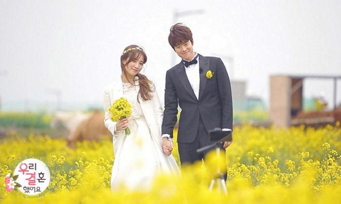 """Gong Myung prepara un evento especial en el aire para Jung Hye Sung en """"We Got Married"""""""