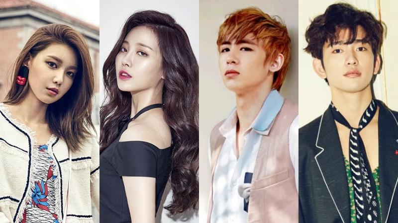 Sooyoung, Yura, Nichkhun, Jinyoung y más confirman que actuarán en las próximas series web drama de JTBC