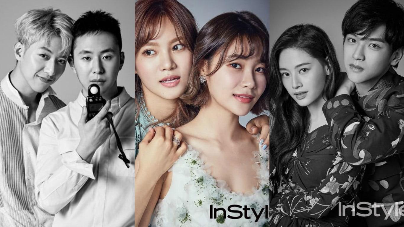 Artistas de FNC Entertainment muestran el talento que corre en sus familias en un reportaje fotográfico especial
