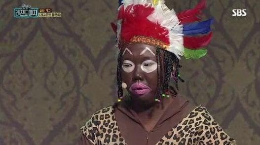 El programa de comedia de SBS habla de la controversia sobre la cara pintada de negro
