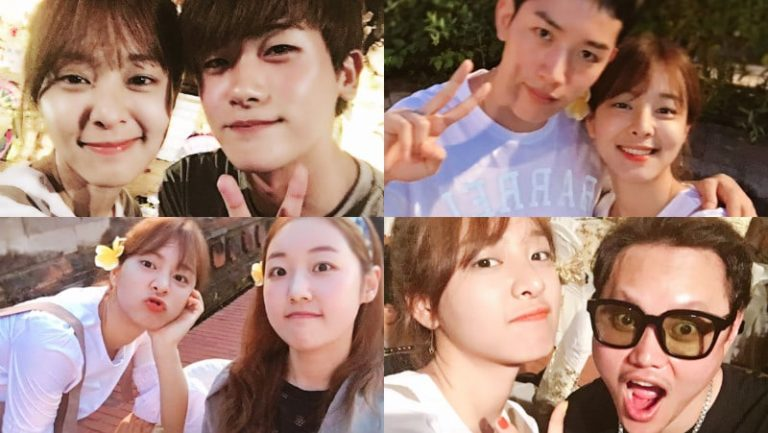 "El elenco de ""Strong Woman Do Bong Soon"" comparte fotos de sus vacaciones de recompensa en el paraíso"