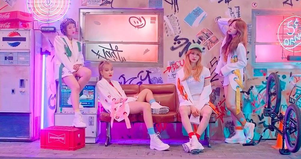 Las integrantes de EXID hablan honestamente sobre si se preocupan por las listas de música