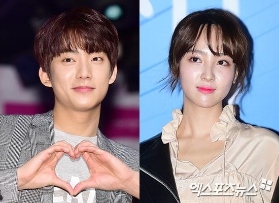 Se reporta que Gongchan de B1A4 y Jung Hye Sung estarían en una relación; sus agencias responden