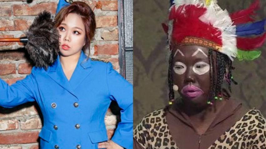 Comediante Hong Hyun Hee se disculpa personalmente por pintar su rostro de negro en sketch de SBS