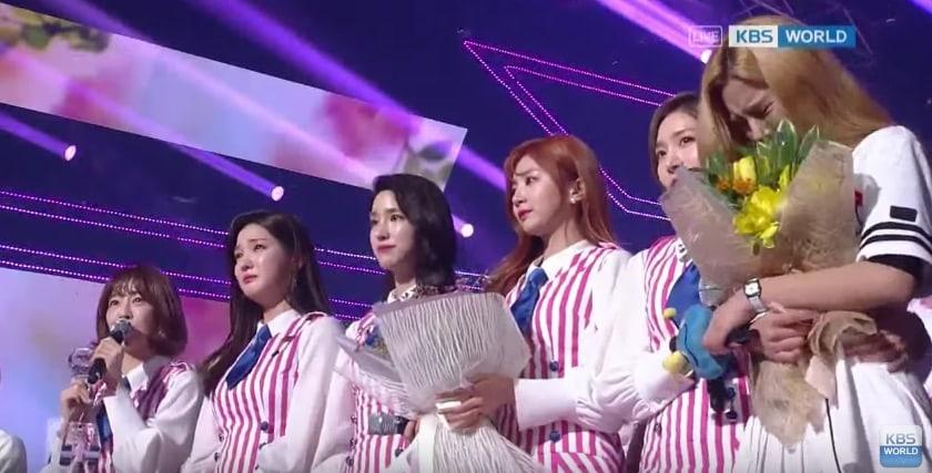 """LABOUM consigue su primera victoria para """"Hwi Hwi"""" en """"Music Bank"""""""