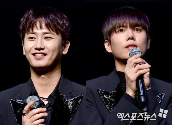 Heo Young Saeng y Kim Kyu Jong asisten al fan meeting de Kim Hyun Joong