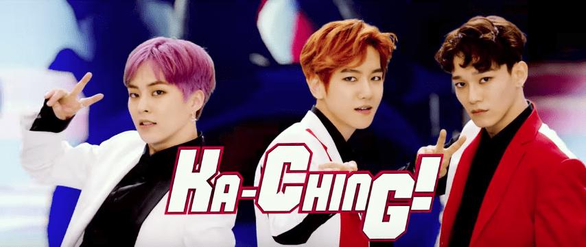 "EXO-CBX libera divertido MV para ""Ka-CHING!"" antes de su debut oficial japonés"