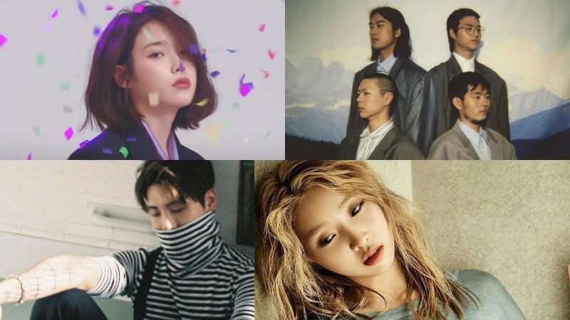 IU, Hyukoh, Jonghyun de SHINee y Gong Minzy en la lista de álbumes mundial de Billboard