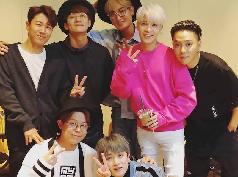 Miembros de H.O.T. y SECHSKIES crean nostalgia con otra dulce reunión