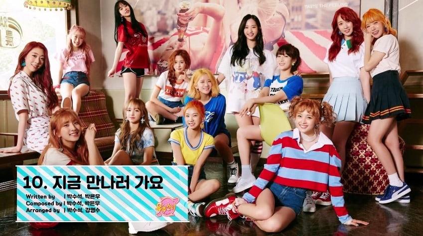 """[Actualizado] Las chicas de Cosmic Girls revelan una vista previa del álbum """"Happy"""""""